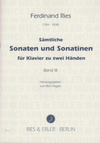Image for Complete Sonatas & Sonatinas for Piano, Book III