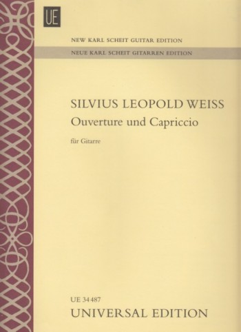 Image for Ouverture und Capriccio for Guitar