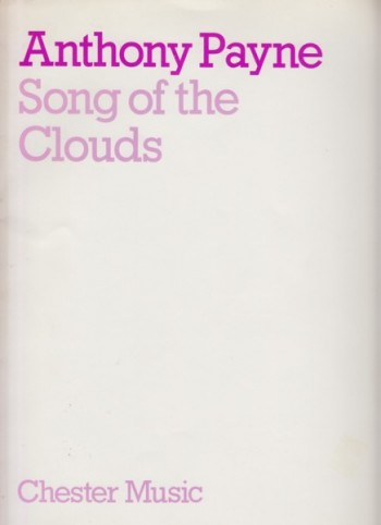 Image for Song of the Clouds - Full Score