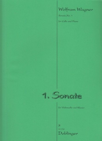 Image for Sonata No.1 for Cello and Piano (1999)