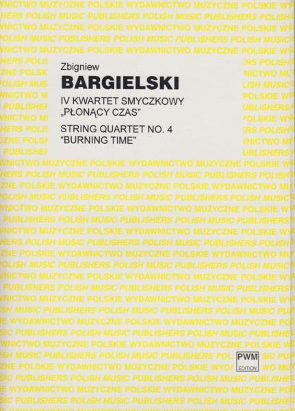 "String Quartet No.4 ""Burning Time"" - Score & Set of Parts"