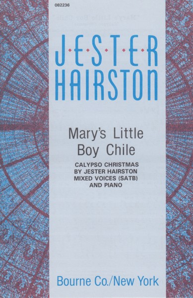 Image for Mary's Little Boy Chile (Calypso Christmas) - SATB & Piano