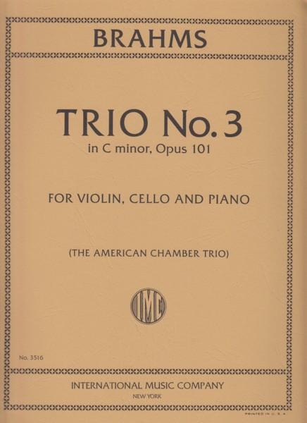 Piano Trio No.3 in c minor, Op.101 - Set of Parts
