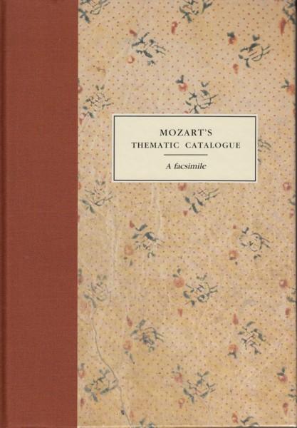 Mozart's Thematic Catalogue, A Facsimile