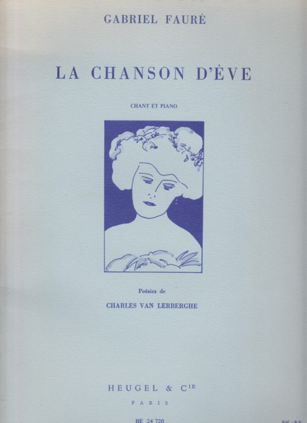Image for La Chanson d'Eve for Voice & Piano
