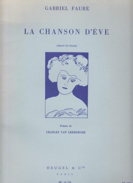 La Chanson d'Eve for Voice & Piano
