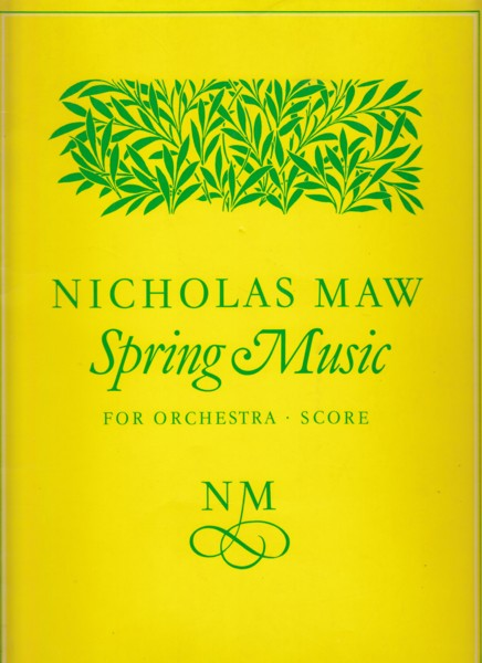 Image for Spring Music - Full Score