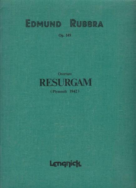 Overture: Resurgam (Plymouth 1942) - Full Score