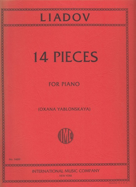 Image for 14 Pieces for Piano