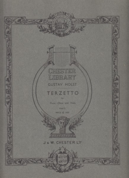 Image for Terzetto for Flute, Oboe and Viola - Set of Parts