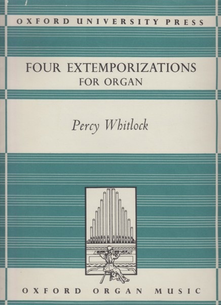 Image for Four Extemporizations for Organ