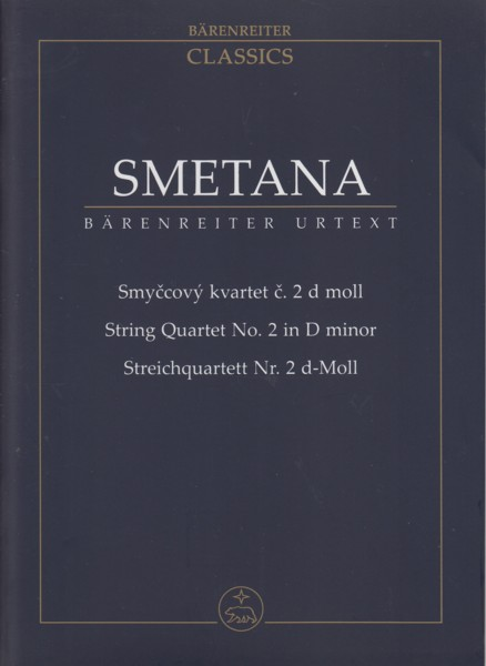 Image for String Quartet No.2 in D minor - Study Score