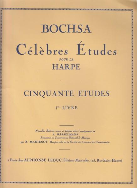 Cinquante Etudes pour la Harpe, Op.34 Book1