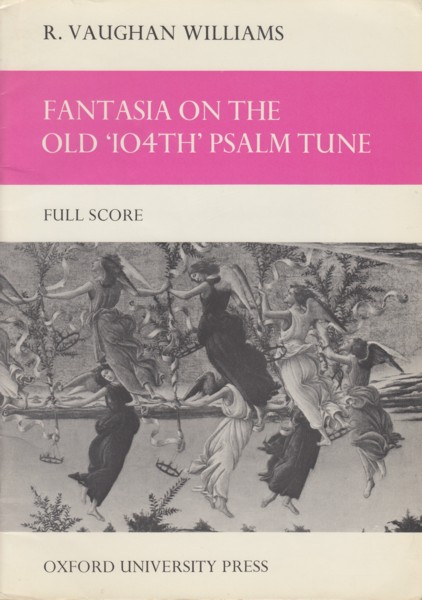 Image for Fantasia (Quasi Variazione) on the 'Old 104th' Psalm Tune - Full Score