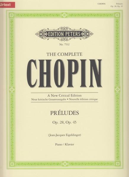 Preludes Op.28 & Op.45 - Urtext