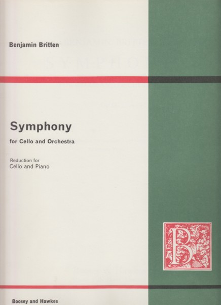 Symphony for Cello and Orchestra, Op.68 - Reduction for Cello & Piano