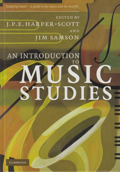Image for An Introduction to Music Studies.