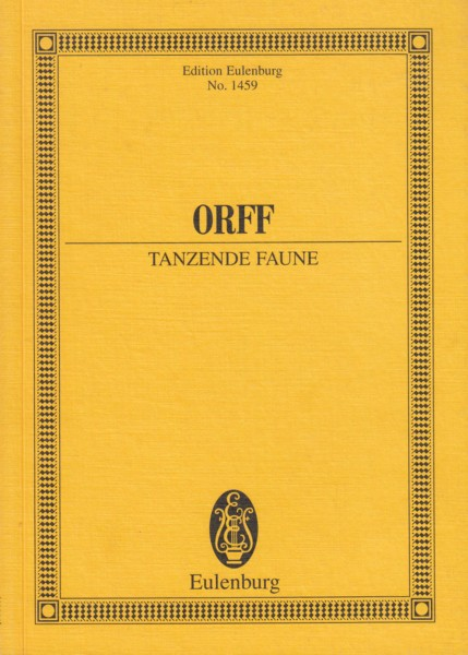 Image for Tanzende Faune, An Orchestral Play, Op.21 (1914) - Study Score