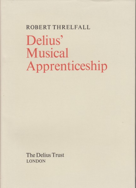 Image for Delius' Musical Apprenticeship
