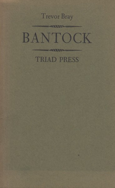 Image for Bantock ~ Music in the Midlands before the First World War