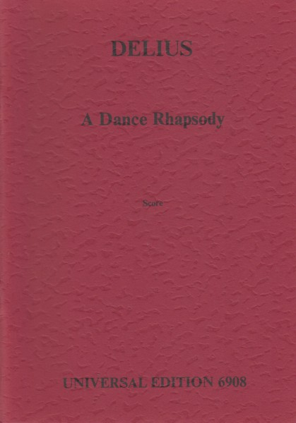 Image for A Dance Rhapsody - Study Score