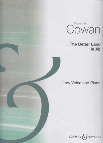 The Better Land - Low Voice & Piano