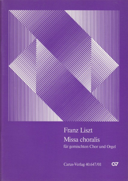 Image for Missa Choralis for Mixed Choir & Organ - Vocal Score