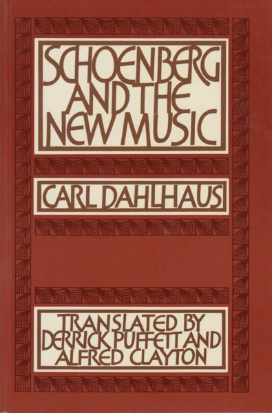 Image for Schoenberg and the New Music