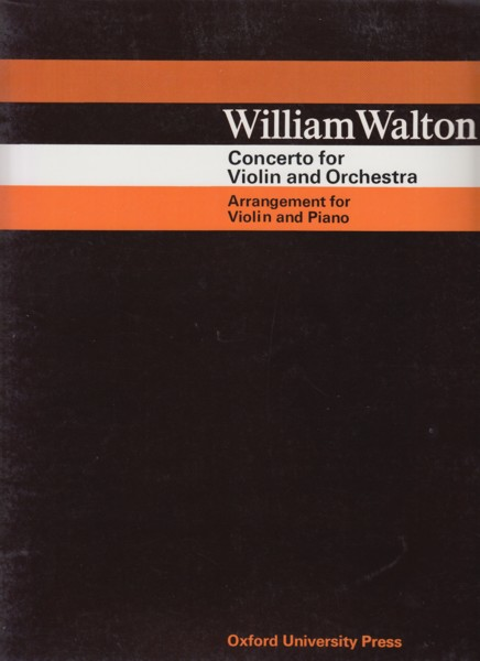Image for Concerto for Violin and Orchestra - Violin & Piano