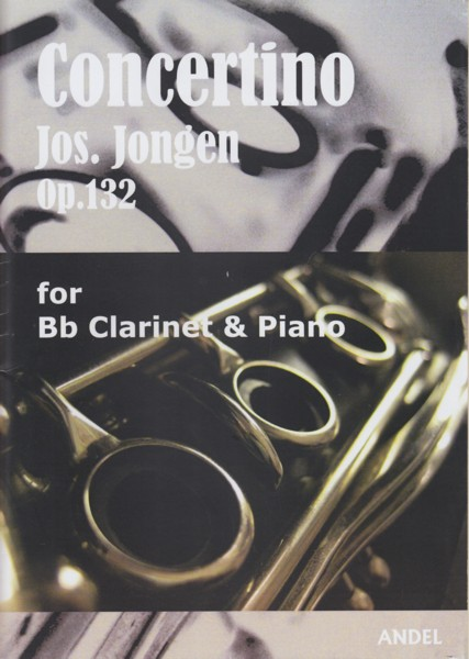 Image for Concertino, Op.132 for Clarinet & Piano