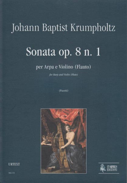 Image for Sonata for Harp and Violin (Flute), Op.8/1 - Set of Parts