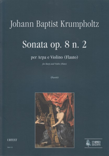 Image for Sonata for Harp and Violin (Flute), Op.8/2 - Set of Parts