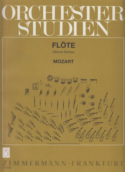 Image for Orchestra Studies for Flute