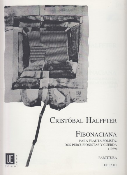 Image for Fibonaciana for Solo Flute, Strings and Percussion (1969) - Full Score