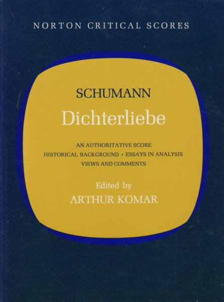 Image for Dichterliebe - Norton Critical Scores