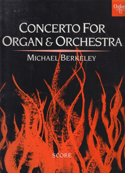 Image for Concerto for Organ and Orchestra - Full Score