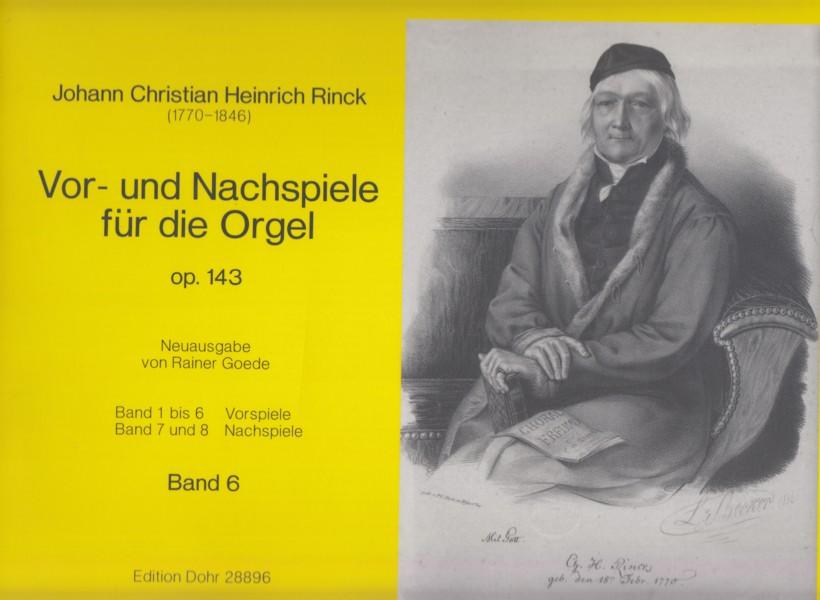 Vor- und Nachspiele for Organ, Op.143 Volume 6