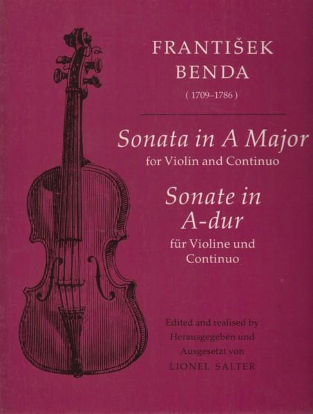 Sonata in A major for Violin and Continuo