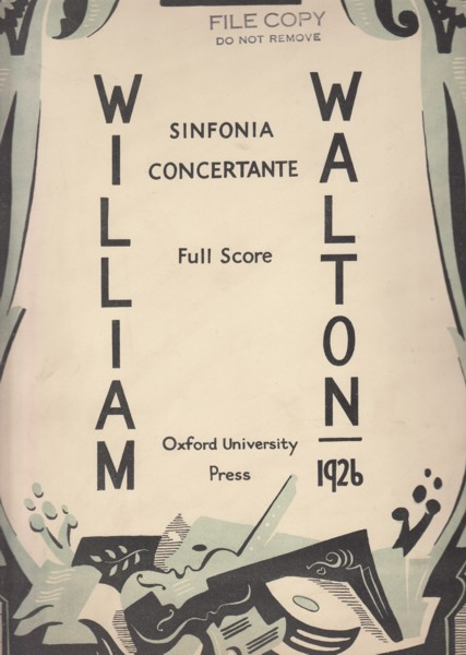 Image for Sinfonia Concertante for Orchestra with Piano - Folio Full Score