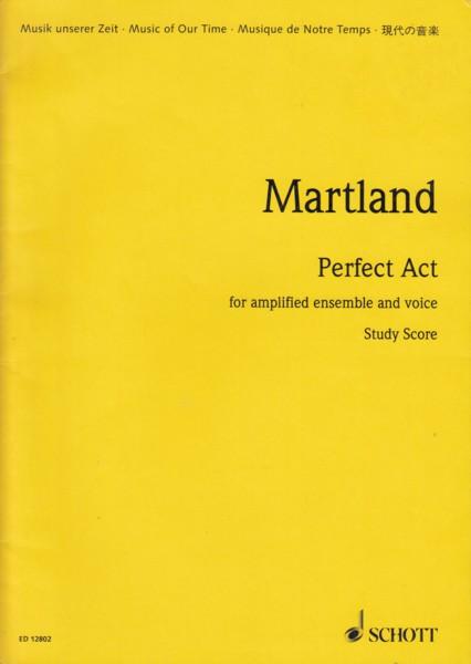Perfect Act - Study Score