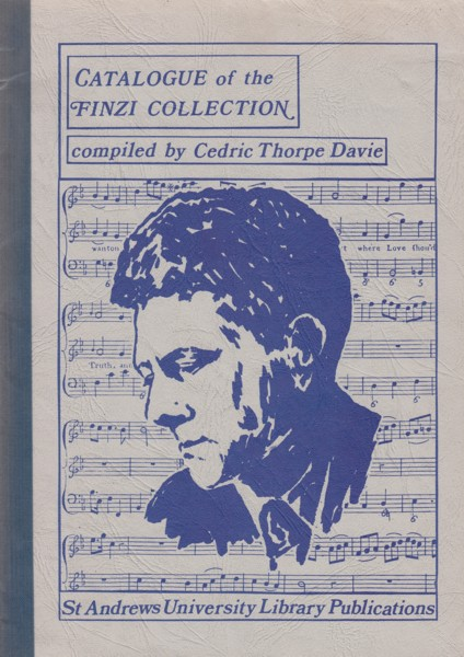 Image for Catalogue of the Finzi Collection in St Andrews University Library