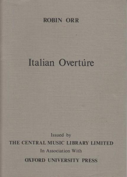 Italian Overture - Study Score