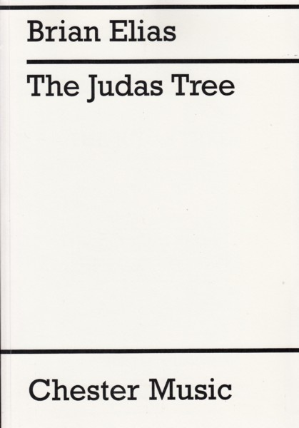Image for The Judas Tree, Ballet in Five Movements for Orchestra - Study Score