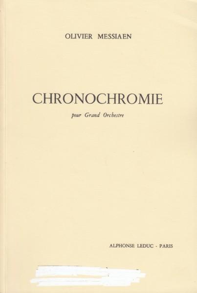 Chronochromie pour Grand Orchestre - Study Score