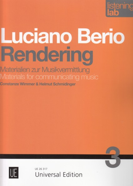Image for Luciano Berio, Rendering - Materials for Communicating Music