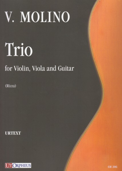 Image for Trio for Violin, Viola and Guitar - Score & Set of Parts