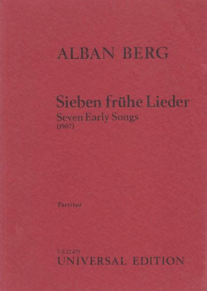 Seven Early Songs (1907) - Study Score