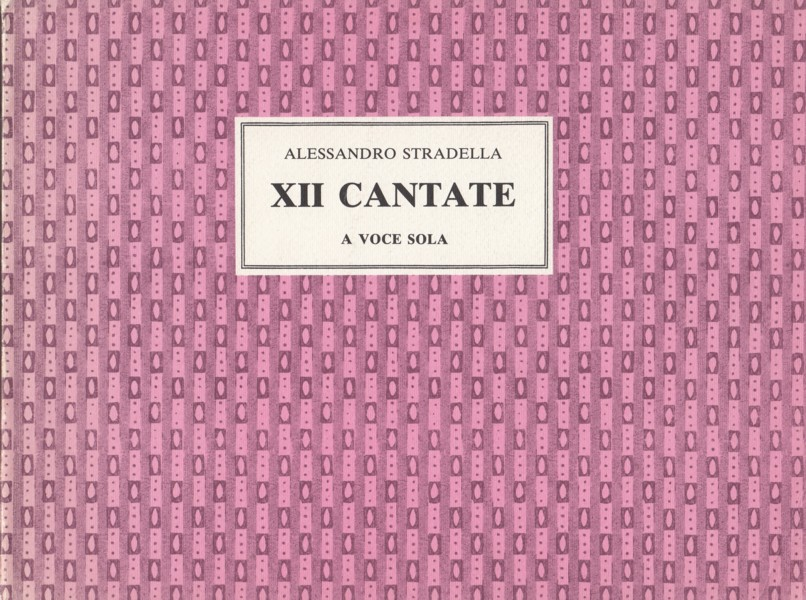 Image for XII Cantate a Voce Sola -  Solo Voice & Continuo