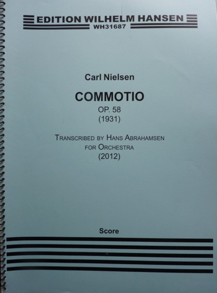 Image for Commotio, Op.58 (1931) - Full Score