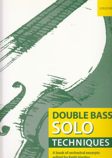 Image for Double Bass Solo Techniques
